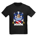 Freniere Family Crest Kids Dark T-Shirt