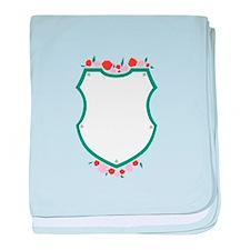 Rose Shield Sigil baby blanket