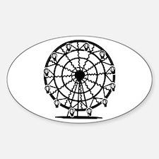 Ferris Wheel Oval Decal