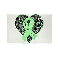Celiac Disease Hope Rectangle Magnet