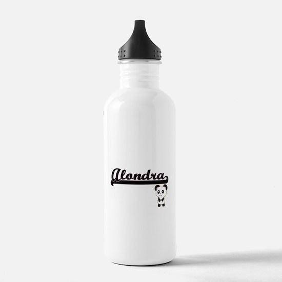 Alondra Classic Retro Sports Water Bottle