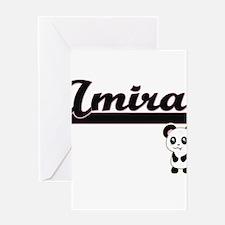 Amira Classic Retro Name Design wit Greeting Cards