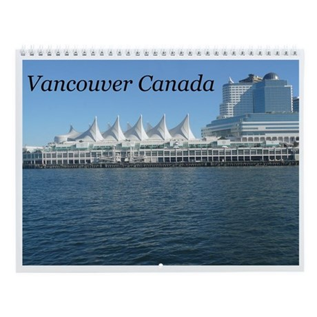 Beautiful Vancouver B.C Wall Calendar