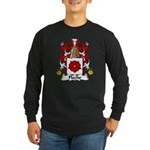 Fleche Family Crest Long Sleeve Dark T-Shirt