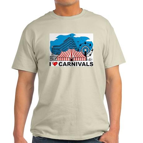 I Love Carnival Light T-Shirt