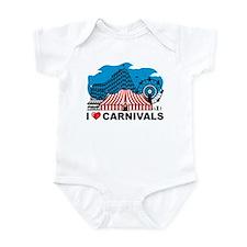 I Love Carnival Infant Bodysuit