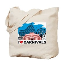 I Love Carnival Tote Bag