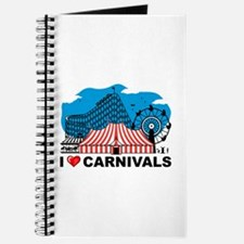 I Love Carnival Journal