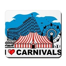 I Love Carnival Mousepad