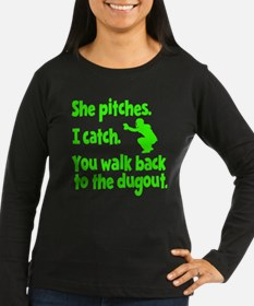 SHE PITCHES, I CA T-Shirt