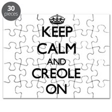 Keep Calm and Creole ON Puzzle