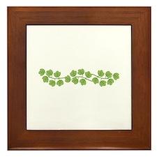 Ivy Vine Framed Tile