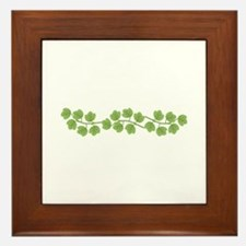 Ivy Vine Framed Tile