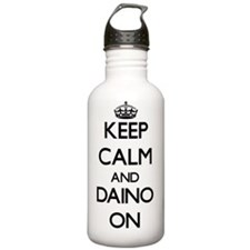 Keep Calm and Daino ON Water Bottle
