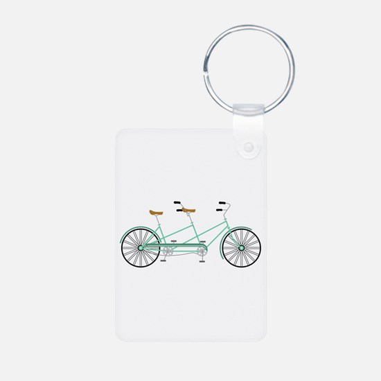 Bicycle built for Two Keychains