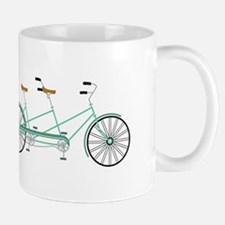 Bicycle built for Two Mugs