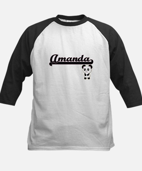 Amanda Classic Retro Name Design w Baseball Jersey