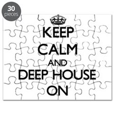 Keep Calm and Deep House ON Puzzle