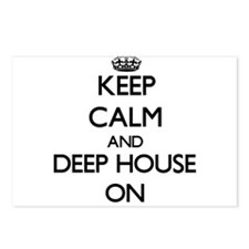 Keep Calm and Deep House Postcards (Package of 8)