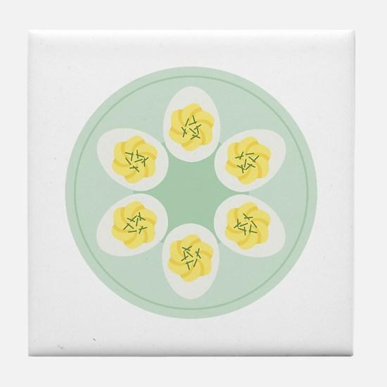 Deviled Eggs Tile Coaster