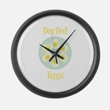 Deviled Large Wall Clock