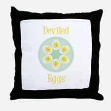 Deviled Throw Pillow
