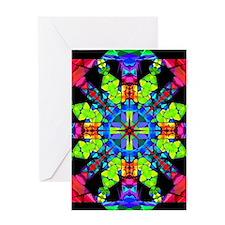 Budding Magic Mandala Greeting Cards