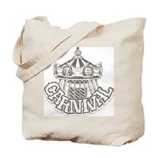 Vintage Carnival Tote Bag