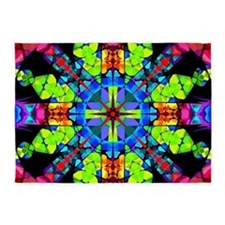 Budding Magic Mandala 5'x7'Area Rug