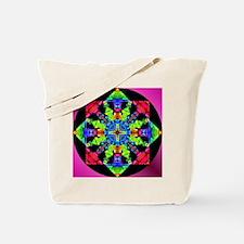 Budding Magic Mandala Tote Bag