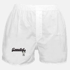 Annabel Classic Retro Name Design wit Boxer Shorts