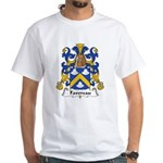 Favereau Family Crest White T-Shirt