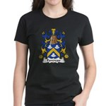 Favereau Family Crest Women's Dark T-Shirt