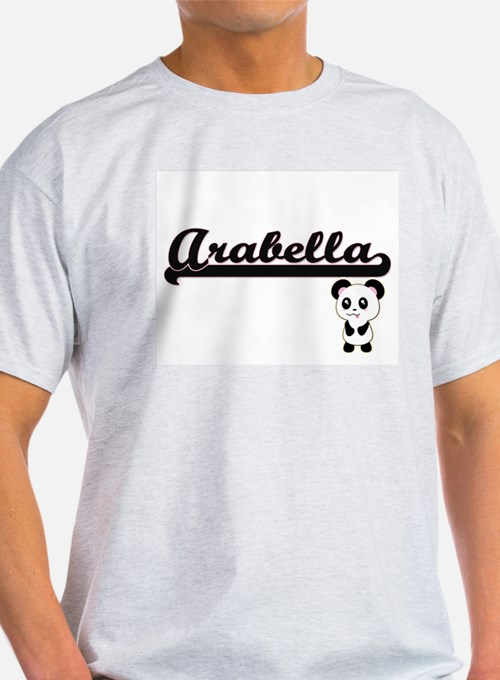 Arabella Classic Retro Name Design with Pa T-Shirt