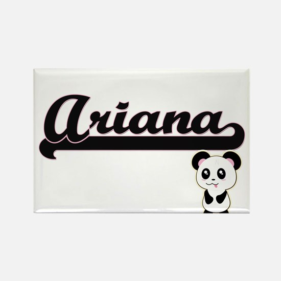 Ariana Classic Retro Name Design with Pand Magnets
