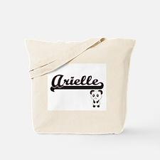 Arielle Classic Retro Name Design with Pa Tote Bag