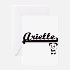 Arielle Classic Retro Name Design w Greeting Cards