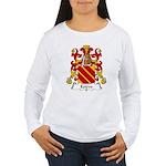 Esteve Family Crest Women's Long Sleeve T-Shirt