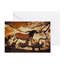 Cave Painting Greeting Card
