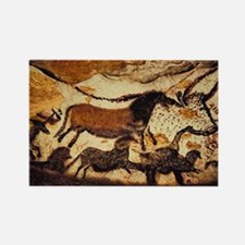 Cave Painting Rectangle Magnet