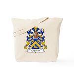 Esperon Family Crest  Tote Bag