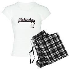 Belinda Classic Retro Name Pajamas