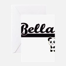 Bella Classic Retro Name Design wit Greeting Cards