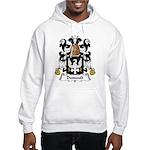 Dussault Family Crest Hooded Sweatshirt