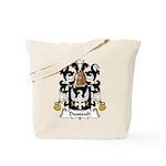 Dussault Family Crest Tote Bag