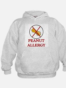 NO PEANUTS Peanut Allergy Hoodie