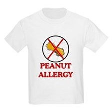 NO PEANUTS Peanut Allergy T-Shirt