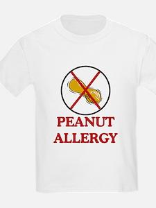 NO PEANUTS Peanut Allergy T-Shirt
