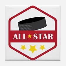 All Star Tile Coaster