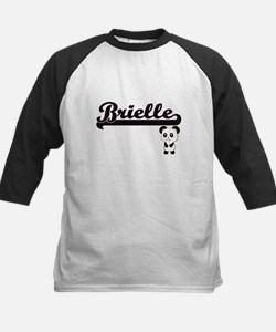Brielle Classic Retro Name Design Baseball Jersey